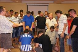 pastors praying