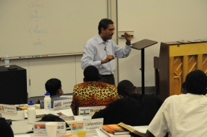 Dr. Richard teaching during the 2013 Dallas GPA.