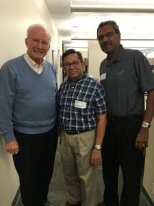 Dr. Steve Douglass-Campus Crusade for Christ International/Cru, Rev. Sirikul and Dr. Richard last November in Florida