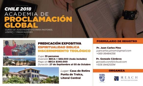 GPA Chile promo poster