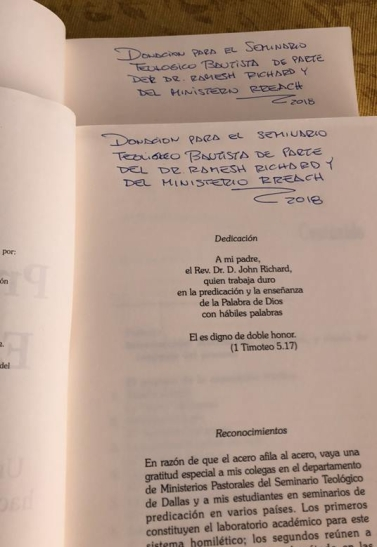 PES1 books in Spanish donated in Bolivia